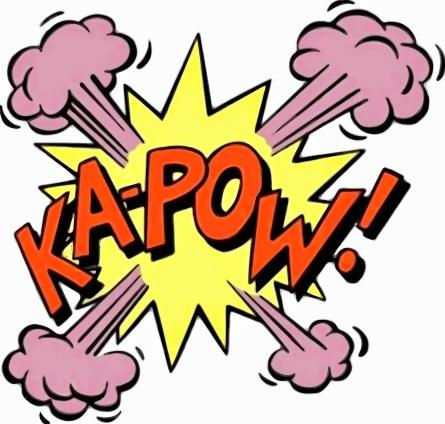 batman 2 kapow explosion big